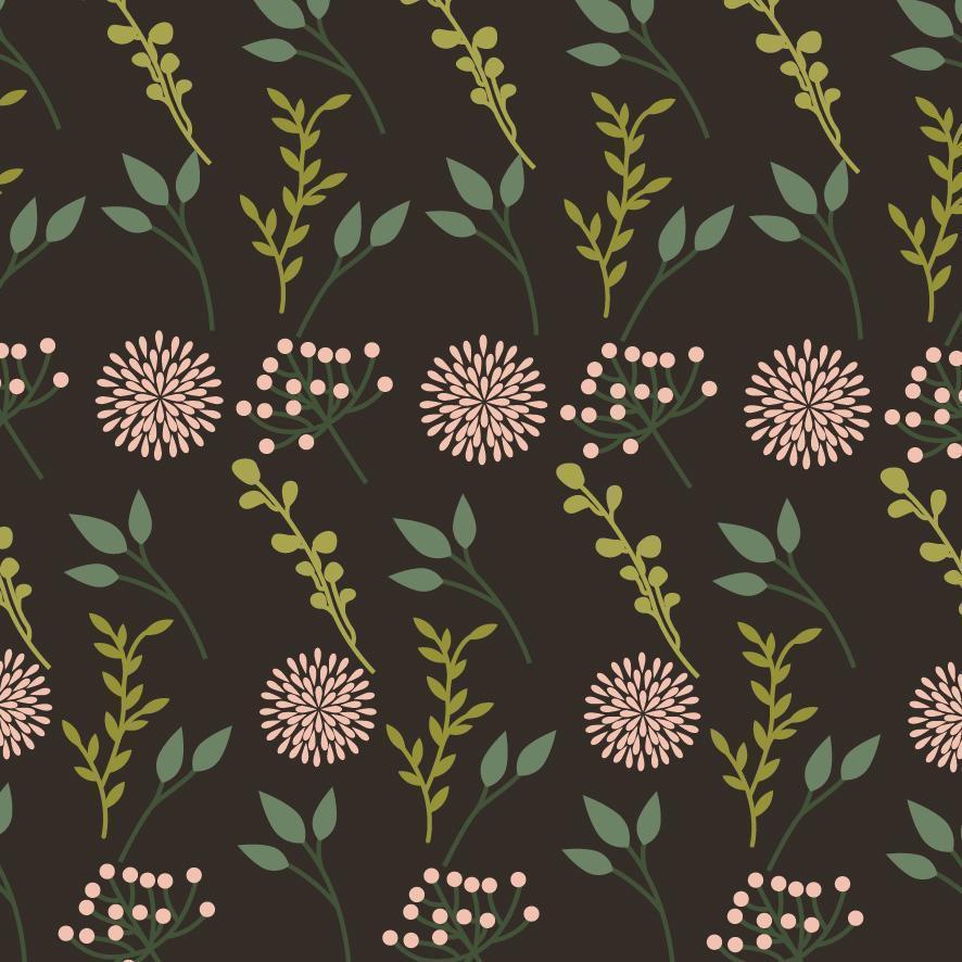 beau fond de motif décoratif floral vecteur