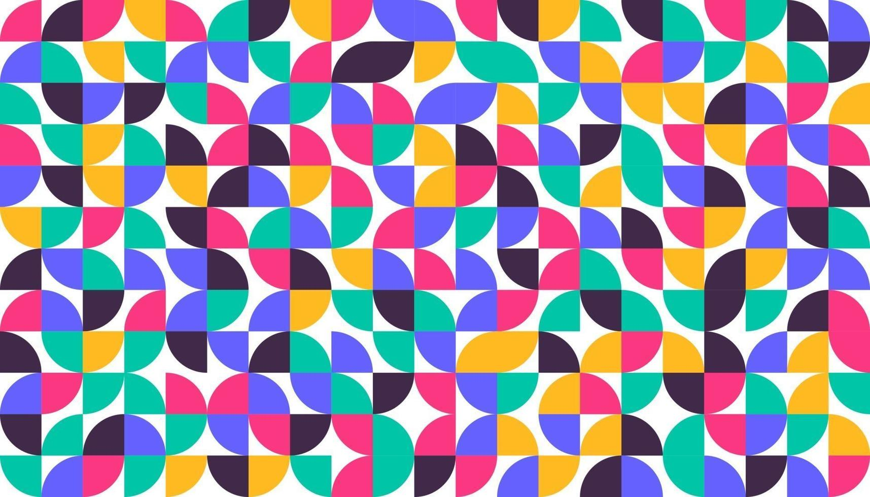 affiche d'art de style minimaliste géométrique minimaliste conception de modèle abstrait dans un style scandinave vecteur