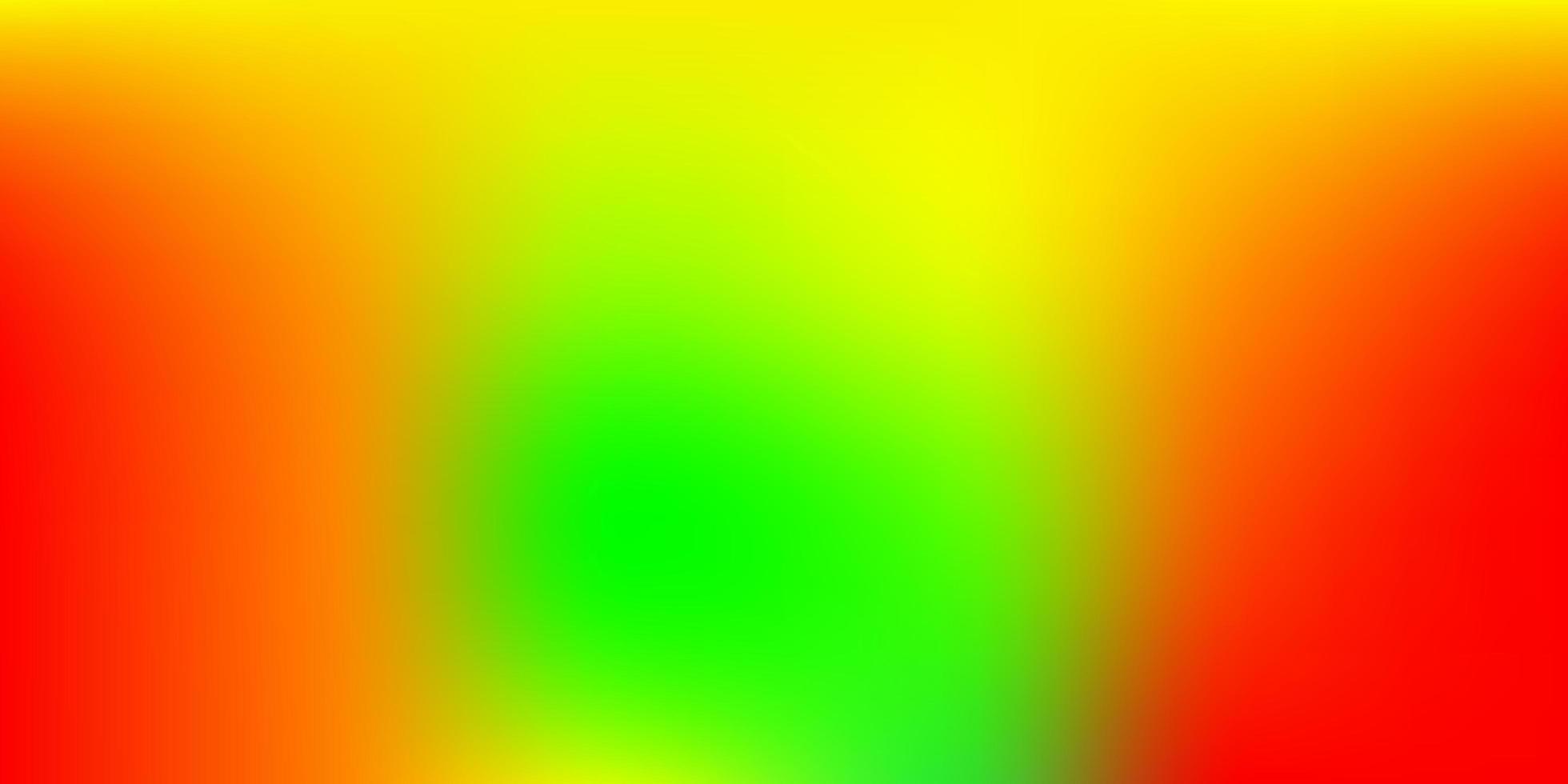 toile de fond floue vecteur vert foncé, rouge.
