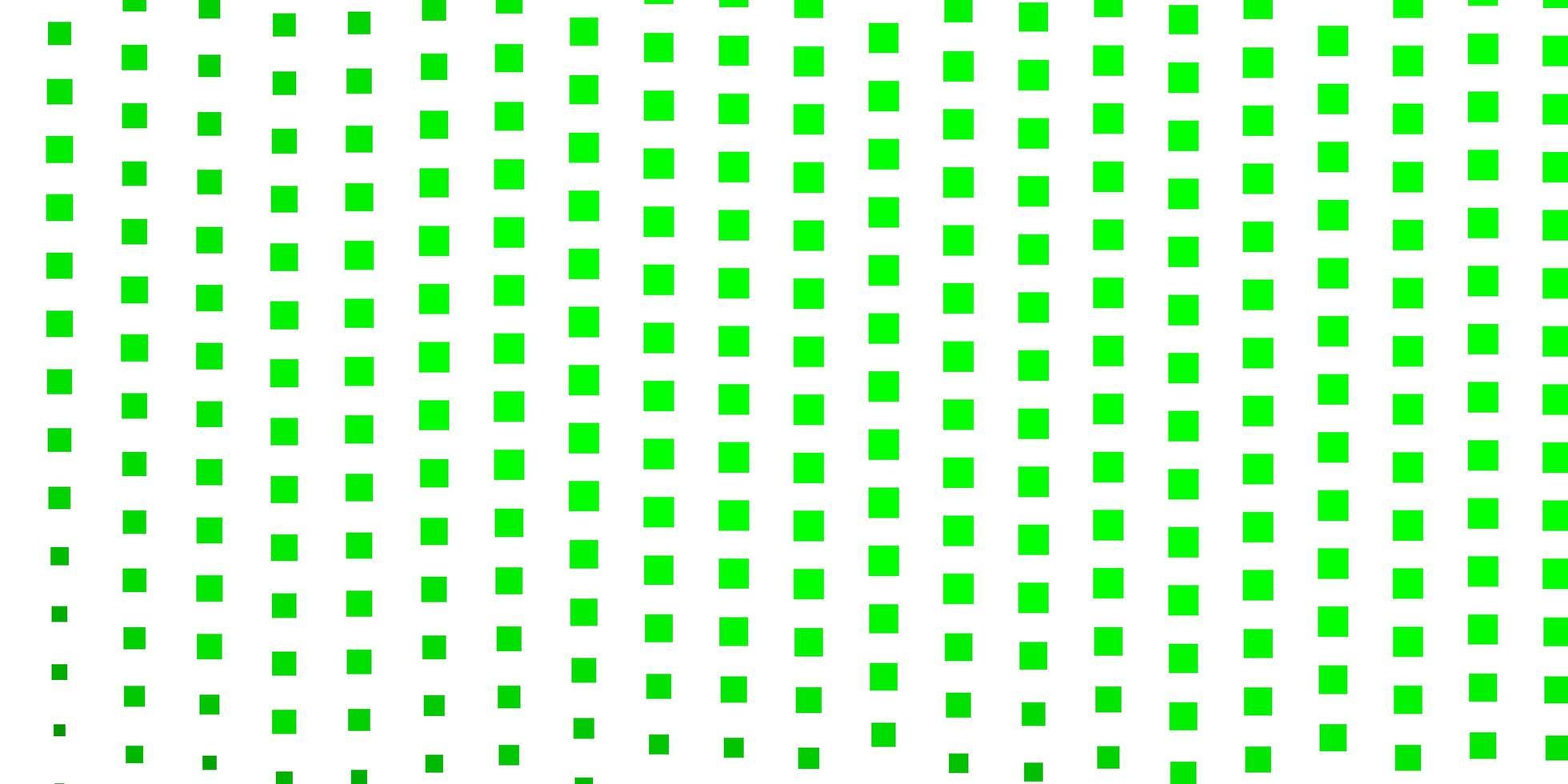 texture vecteur vert clair dans un style rectangulaire.