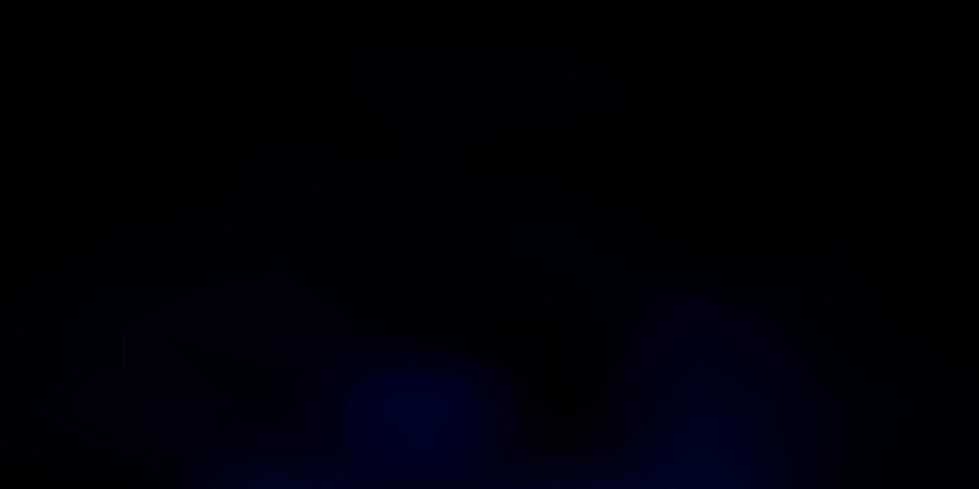 toile de fond floue vecteur bleu foncé.