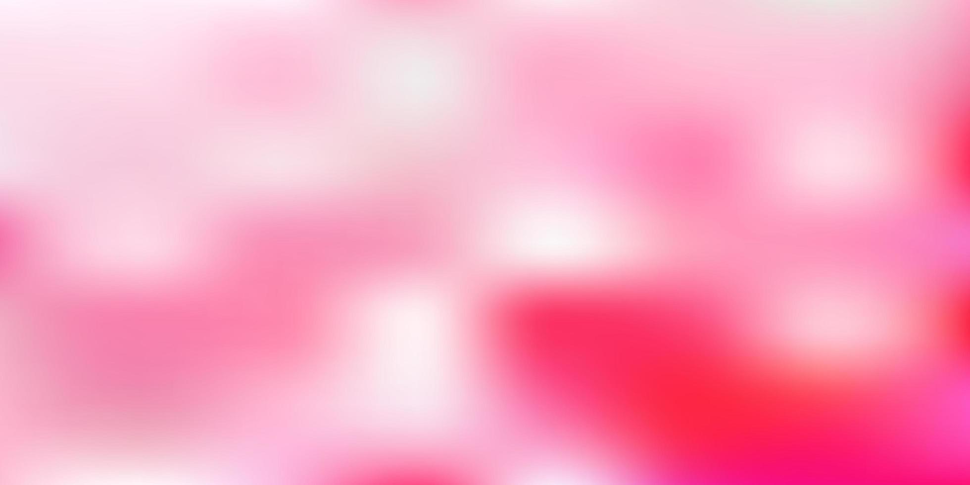 fond flou dégradé vecteur rose clair.