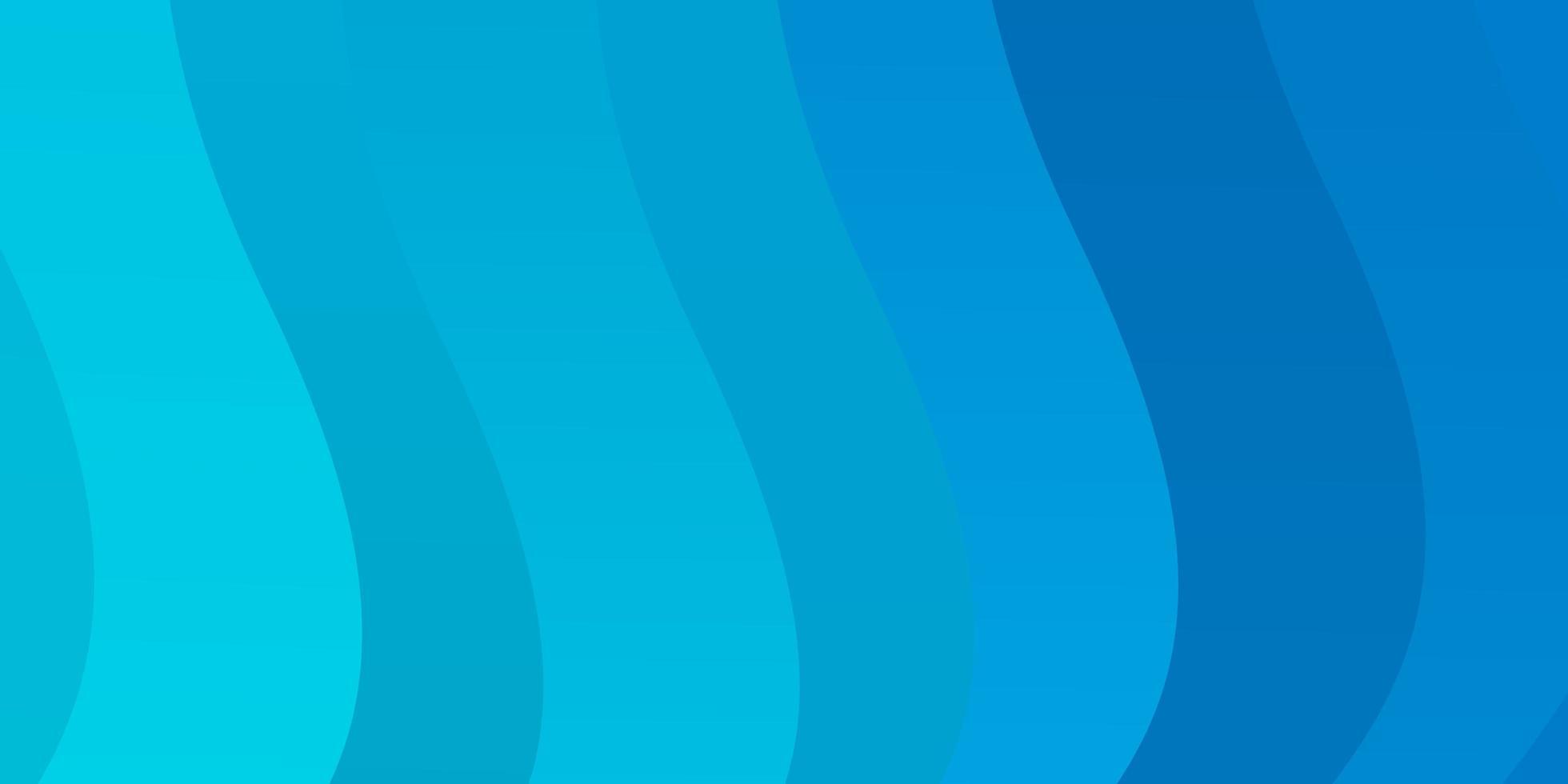 texture de vecteur bleu clair avec arc circulaire.