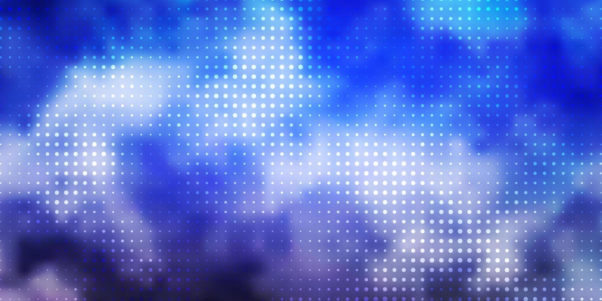 disposition de vecteur violet clair avec des cercles.
