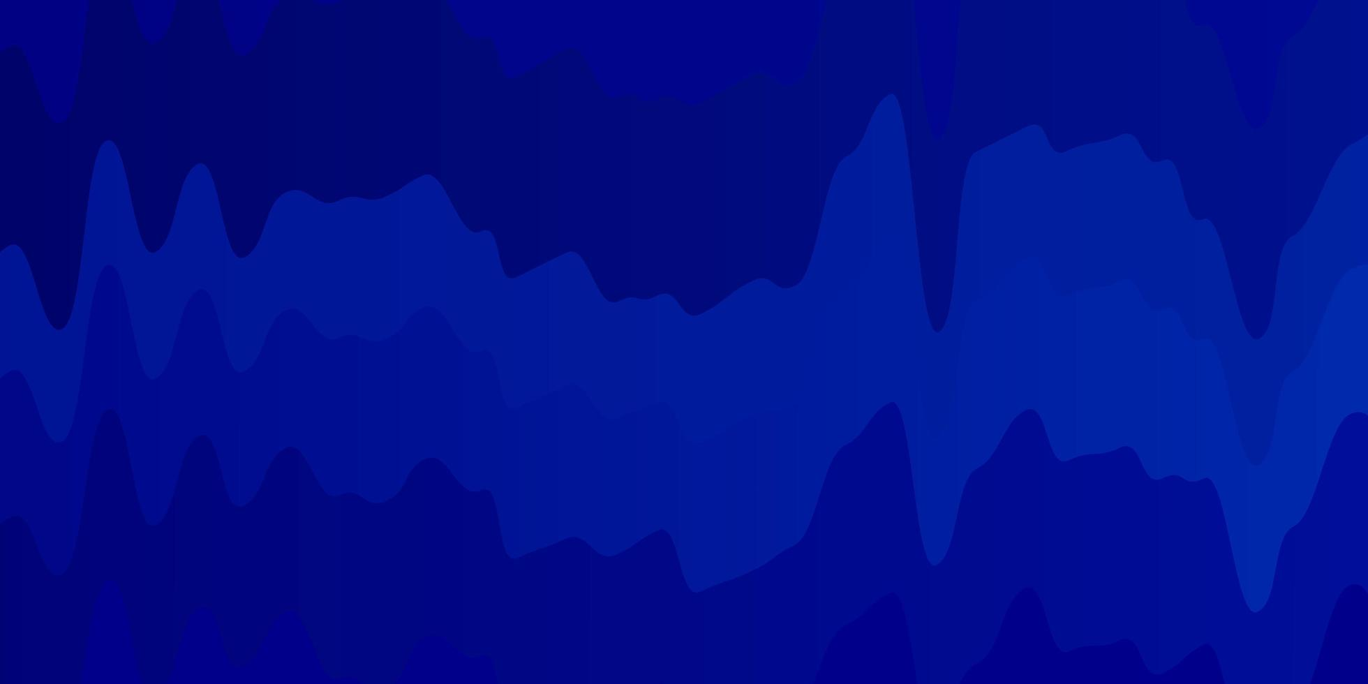 toile de fond de vecteur bleu clair avec des courbes.