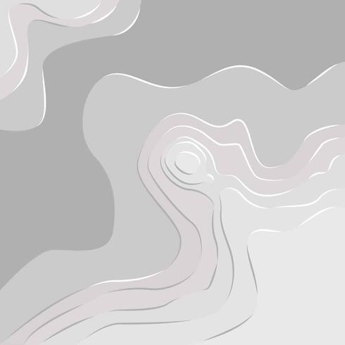 Vecteur d'illustration de la topographie