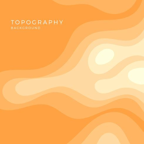 Topographie de plat Vector Background
