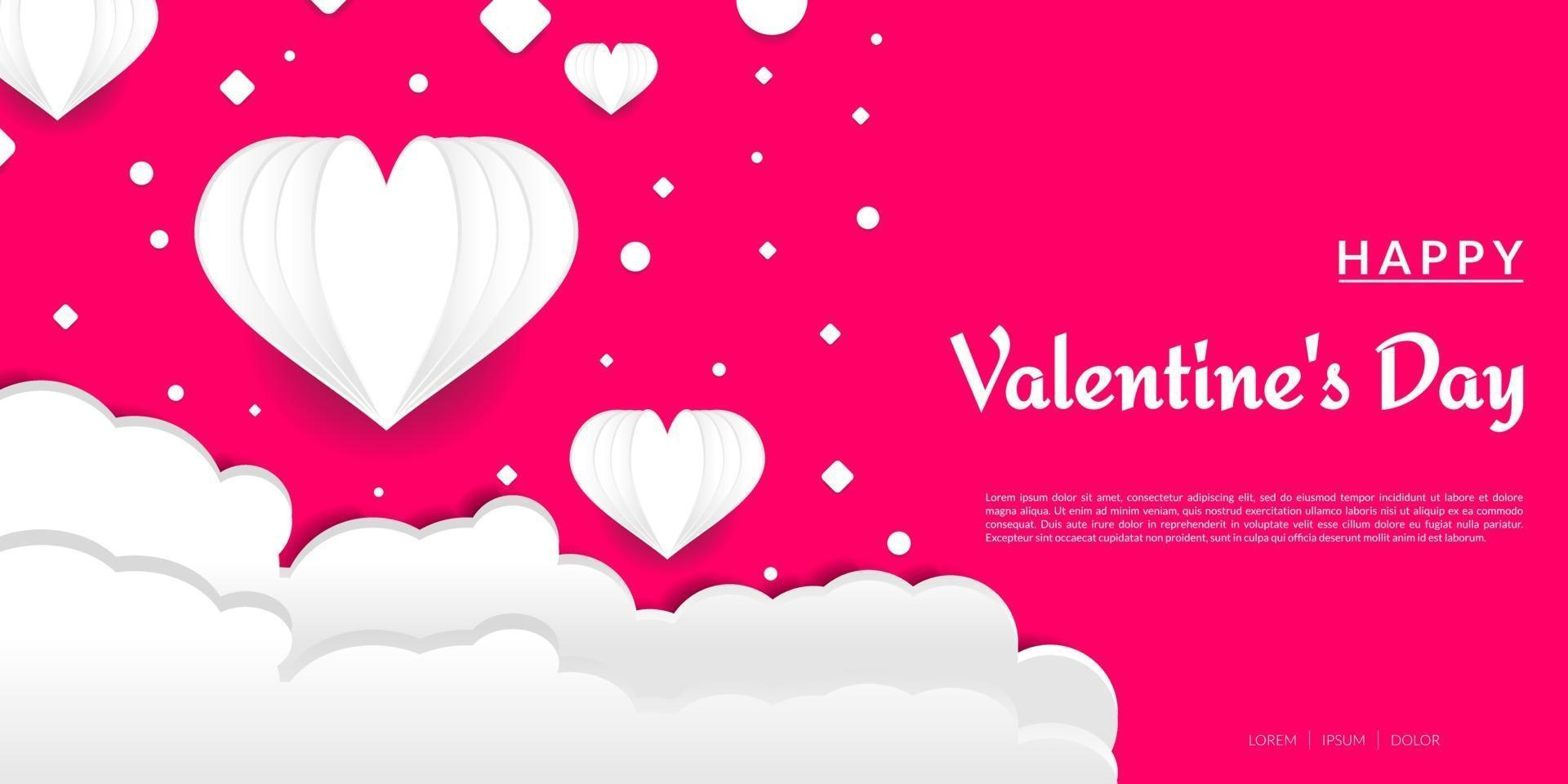 fond de la Saint-Valentin vecteur