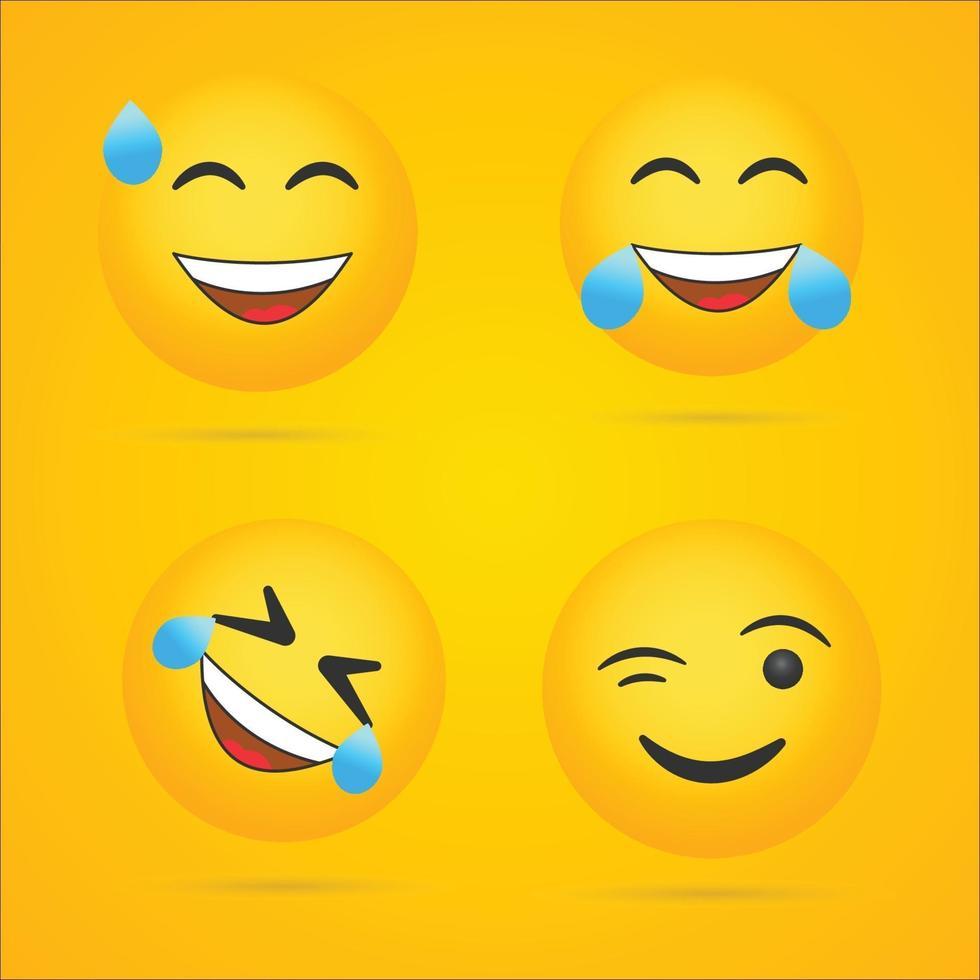 vecteur de collection emoji