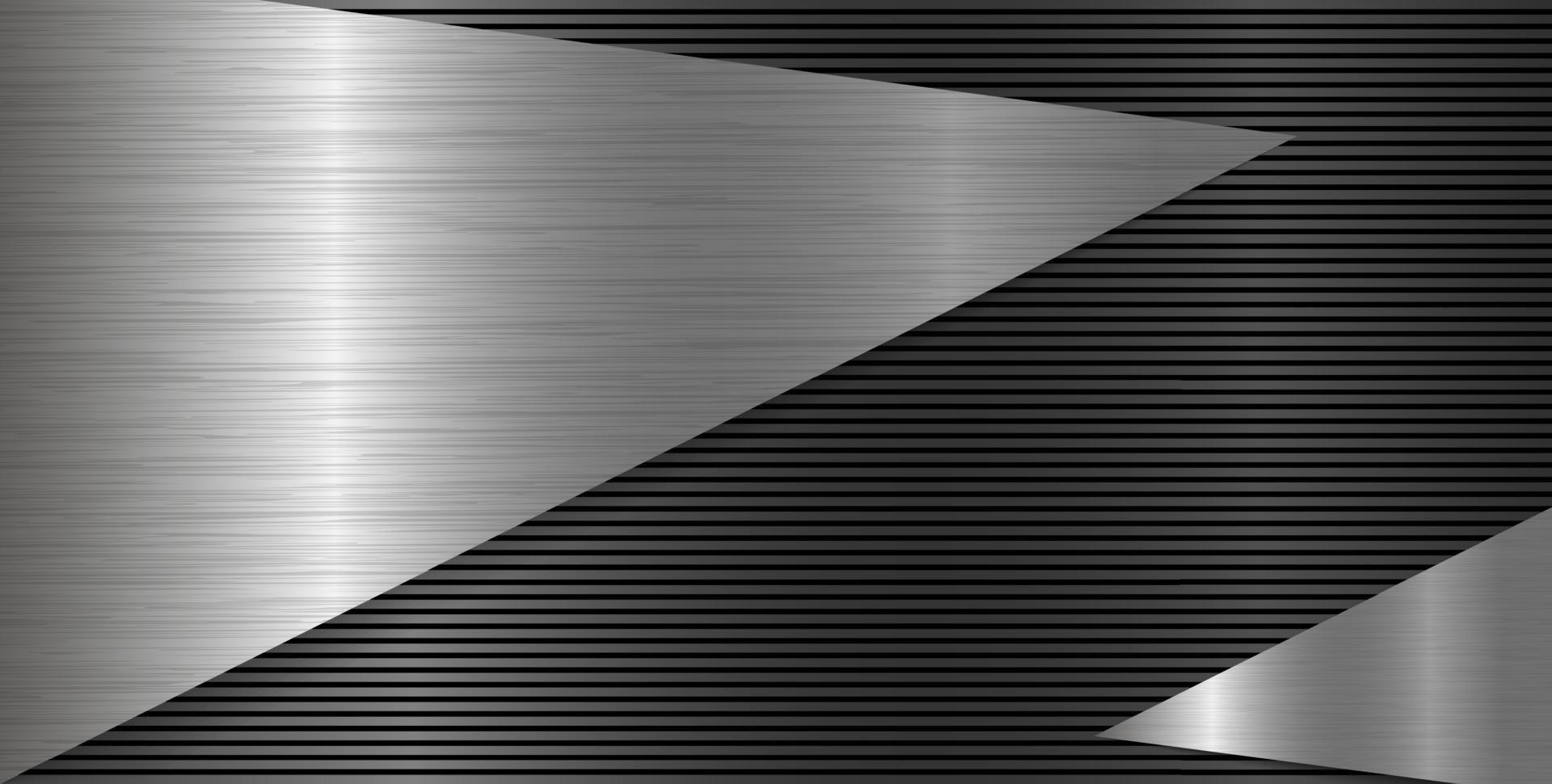 illustration vectorielle de texture métallique fond vecteur