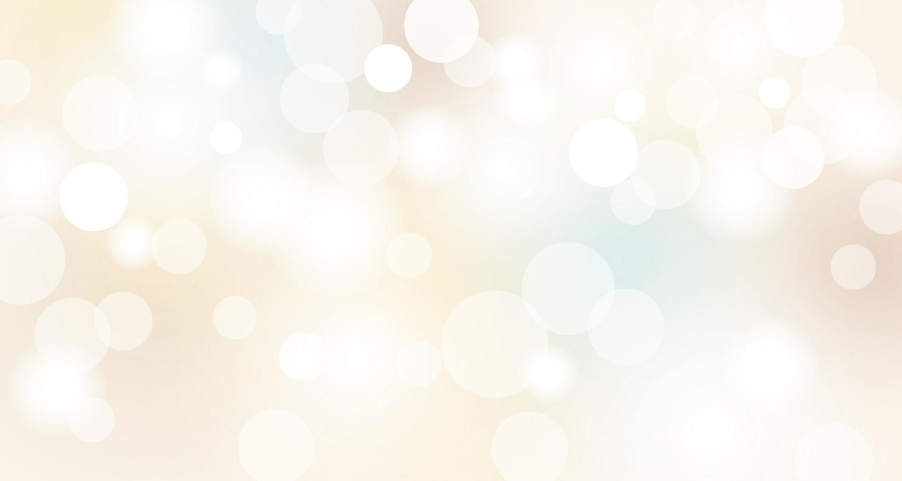 abstrait bokeh lumières fond illustration vectorielle vecteur