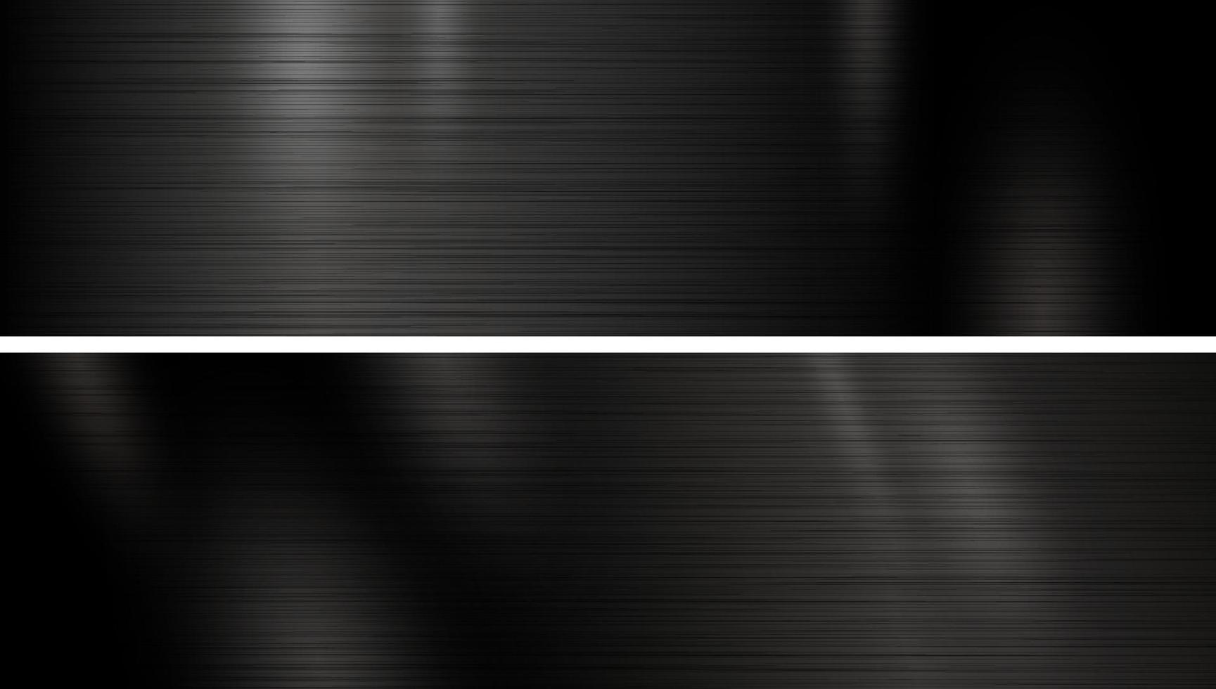 illustration vectorielle de fond de texture en métal noir vecteur