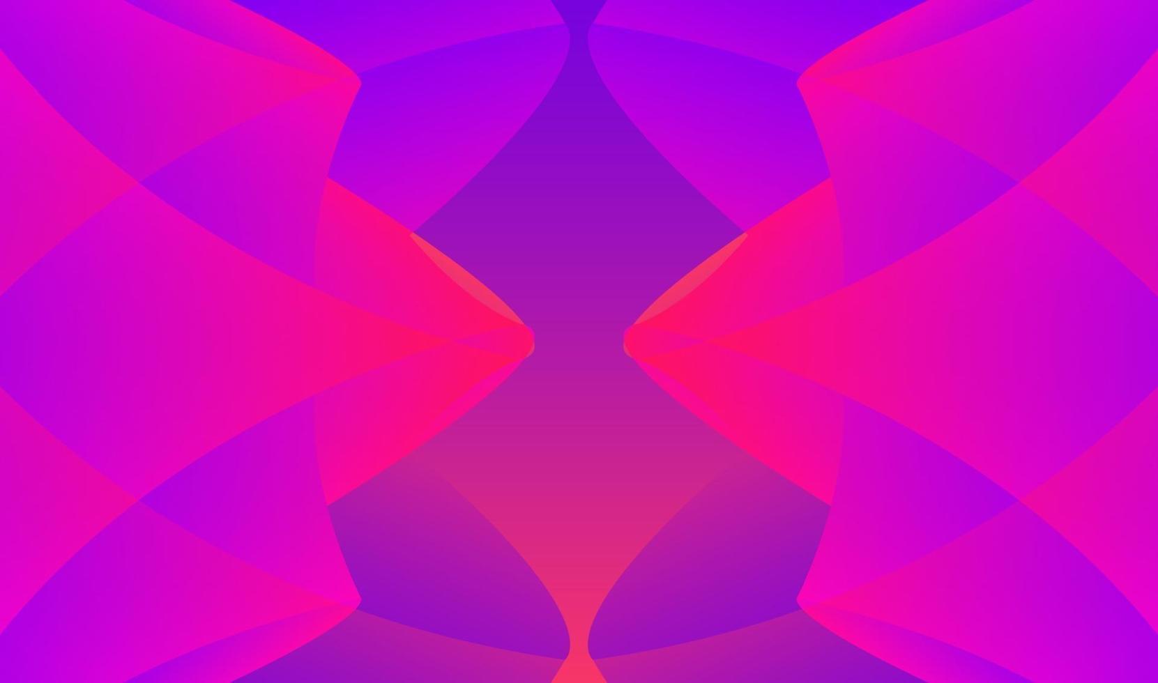 fond géométrique dégradé abstrait moderne vecteur