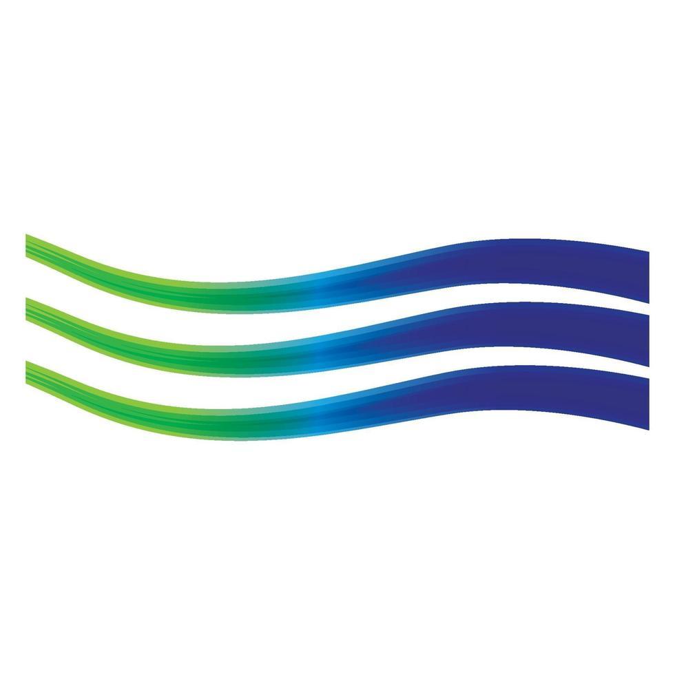 images de lignes d'onde vecteur