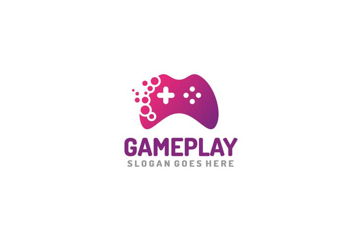 Logo Game Play vecteur