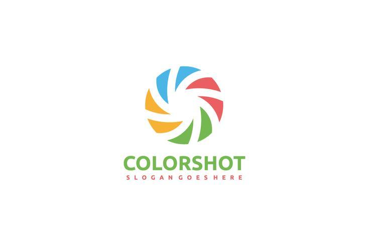 Logo de la photographie vecteur