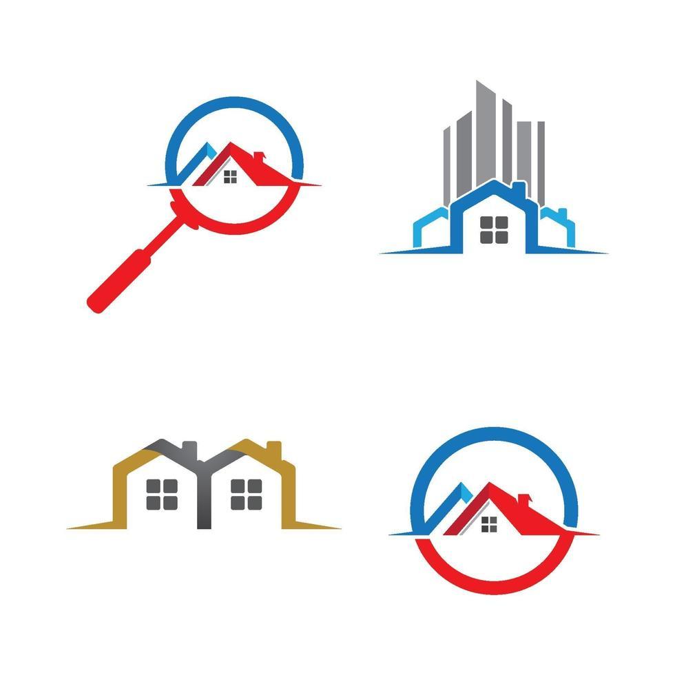 images de logo de maison vecteur