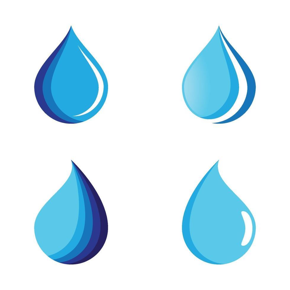 images de logo de goutte d'eau vecteur