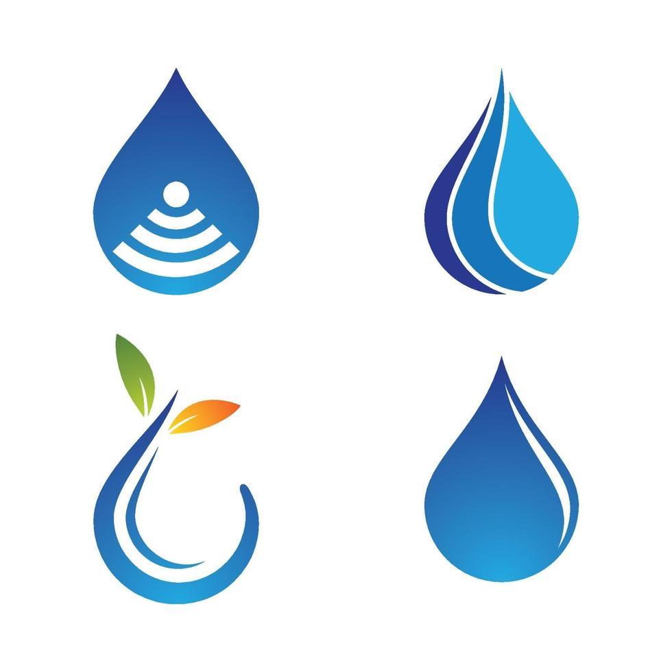 images de logo de vague d'eau vecteur