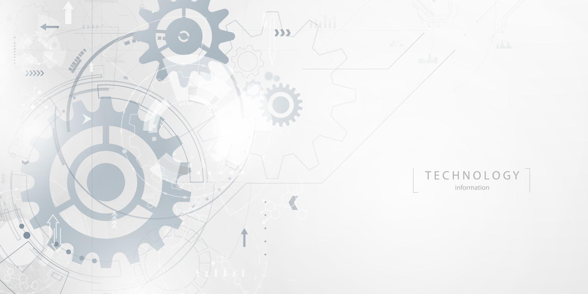 fond de vecteur entreprise technologie entreprise et technologie