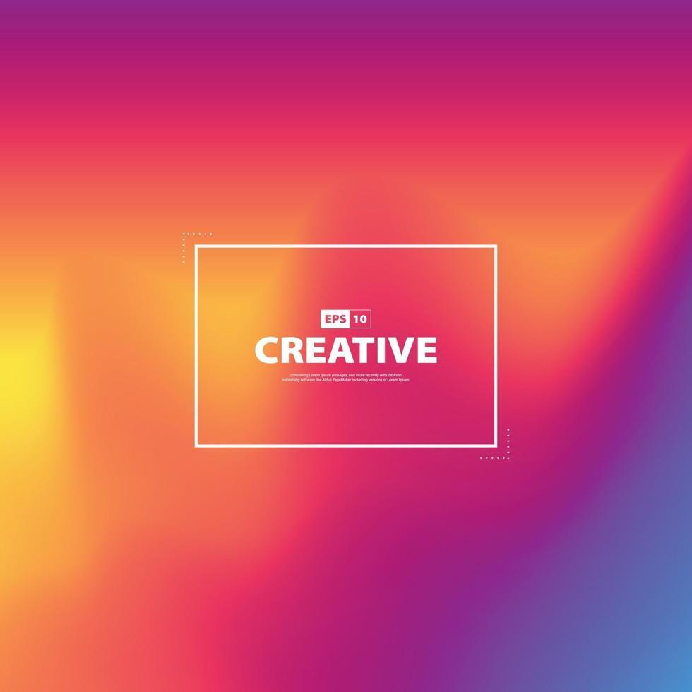 mélange de couleurs abstraites de papier peint décoratif en maille de style. illustration vectorielle vecteur