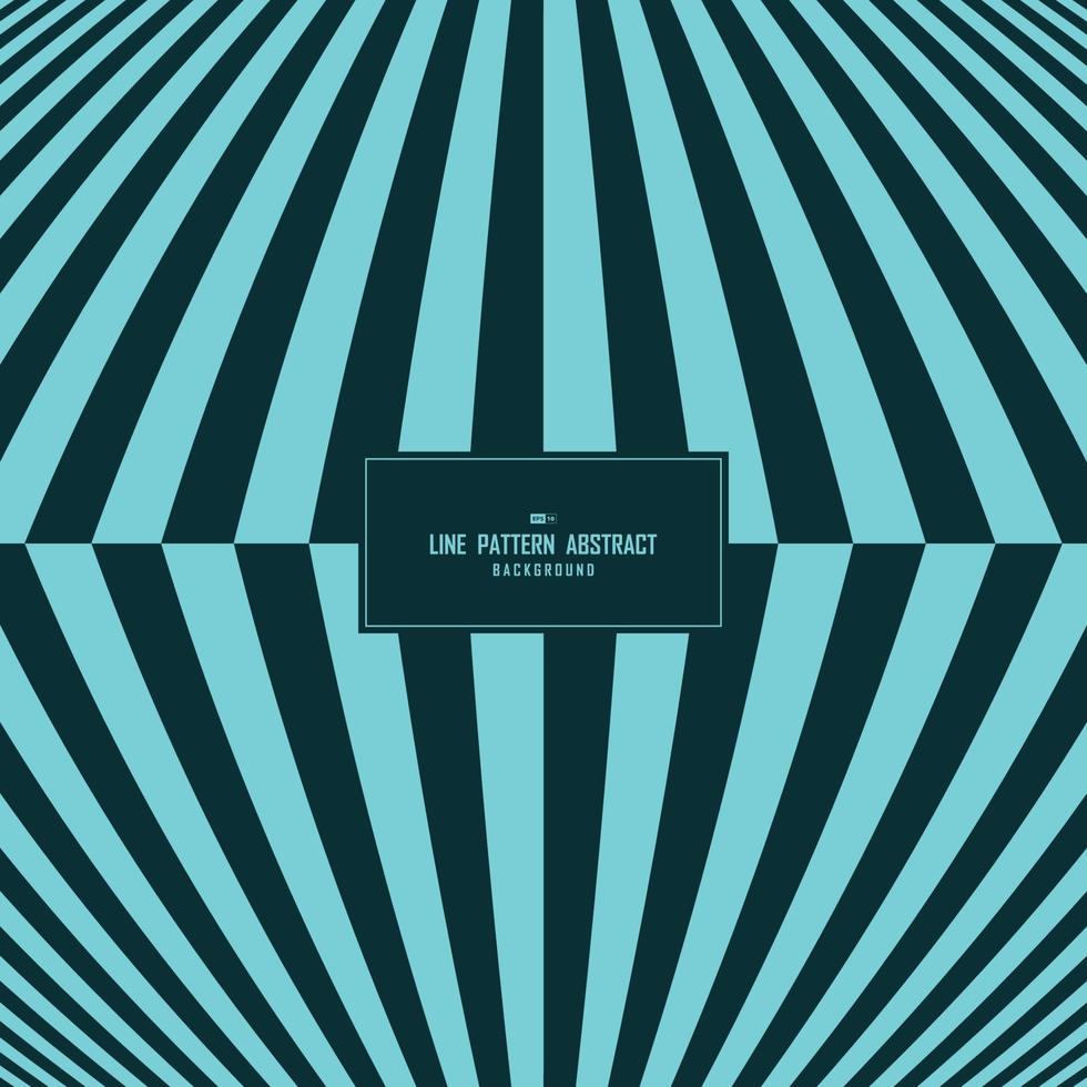 ton bleu abstrait de fond de conception de couverture de motif de ligne de bande minimale. illustration vectorielle vecteur