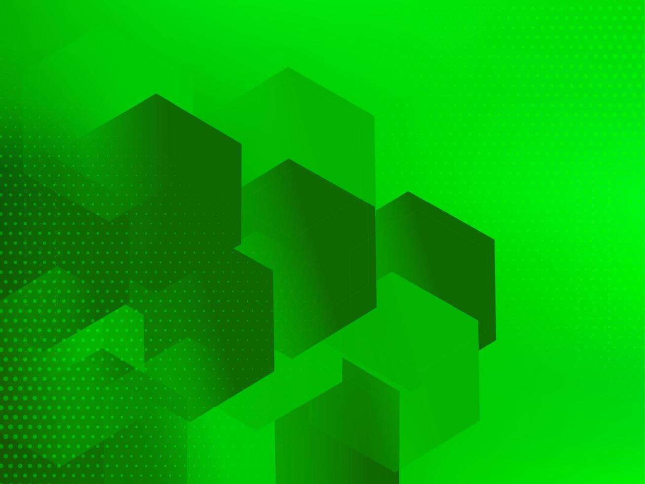 géométrique abstrait motif vert lignes fond de forme dynamique vecteur