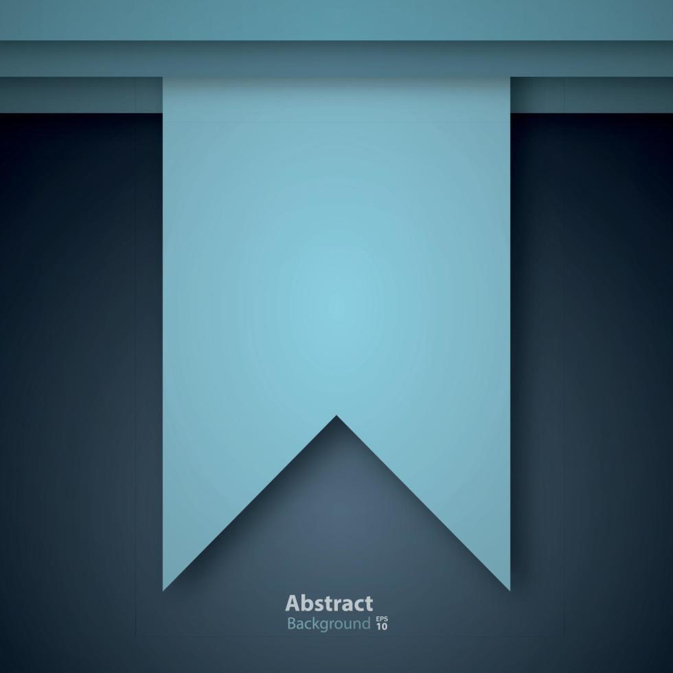 concept de design en papier découpé pour flyers, présentations et affiches. vecteur