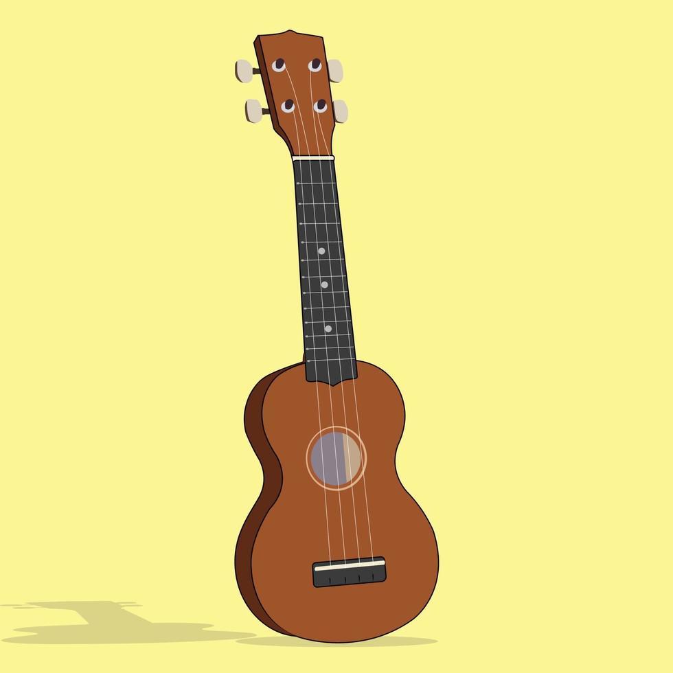 une guitare vectorielle parfaite pour l'industrie de la musique vecteur