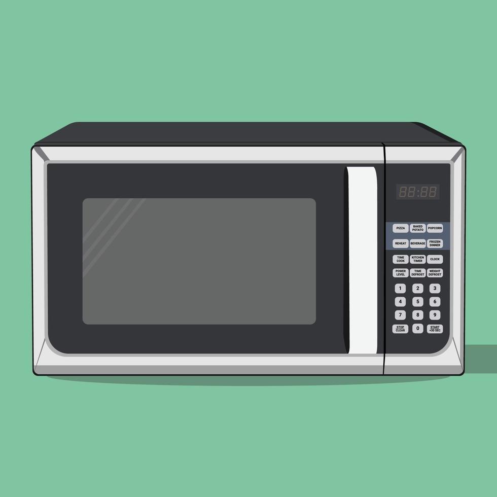 micro-ondes vectoriel, parfait pour l'industrie alimentaire vecteur