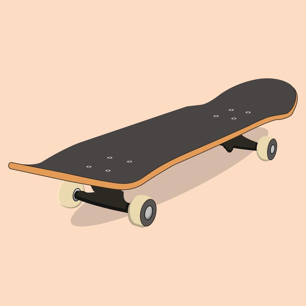 skateboard de vecteur, parfait pour les industries du sport vecteur