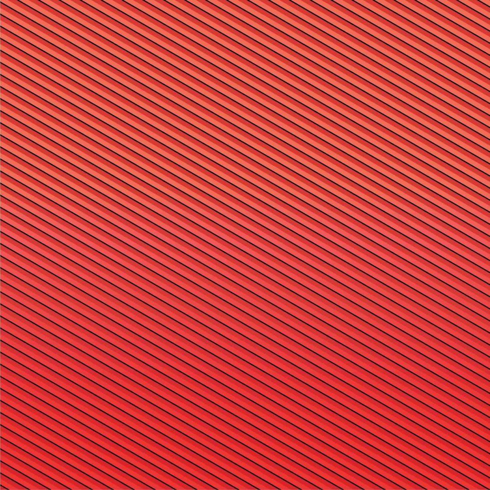 motif de fond abstrait, dégradé de motif de rayures rouges vecteur