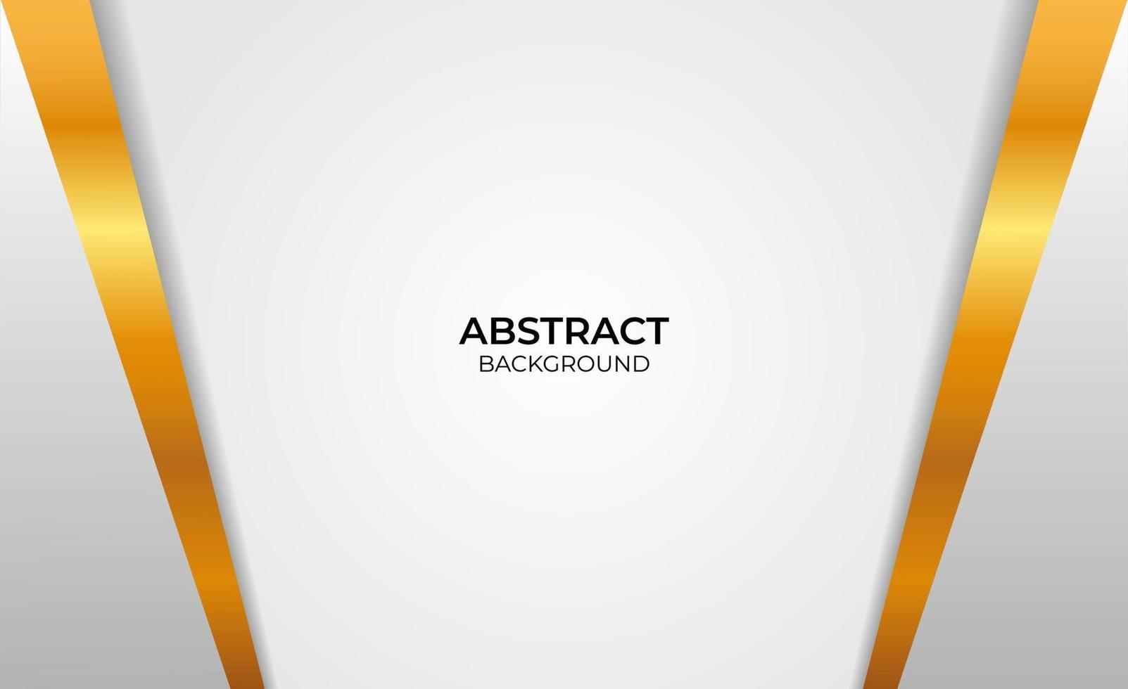 fond abstrait style or et gris vecteur