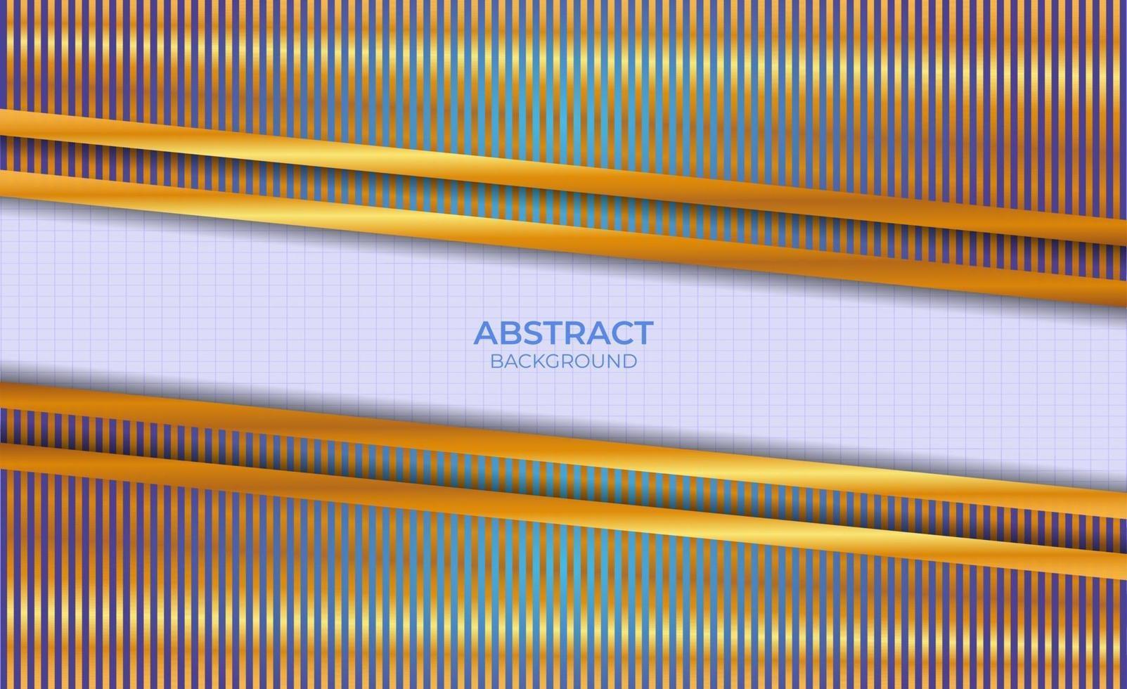 conception de fond abstrait bleu et or vecteur