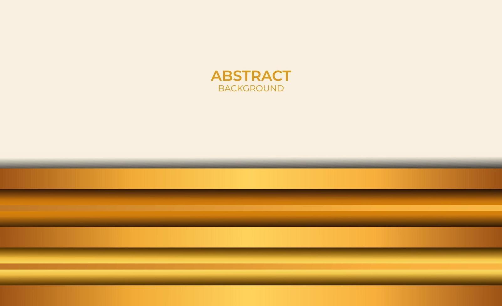 fond abstrait marron et or vecteur
