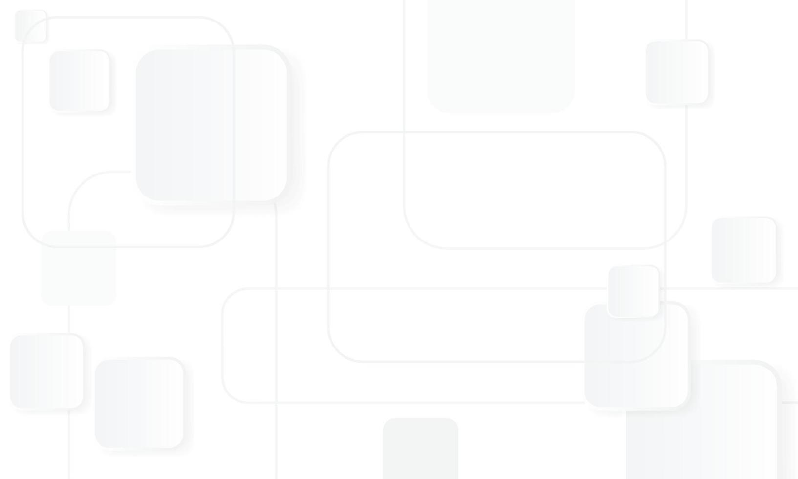 fond rectangle blanc et gris vecteur