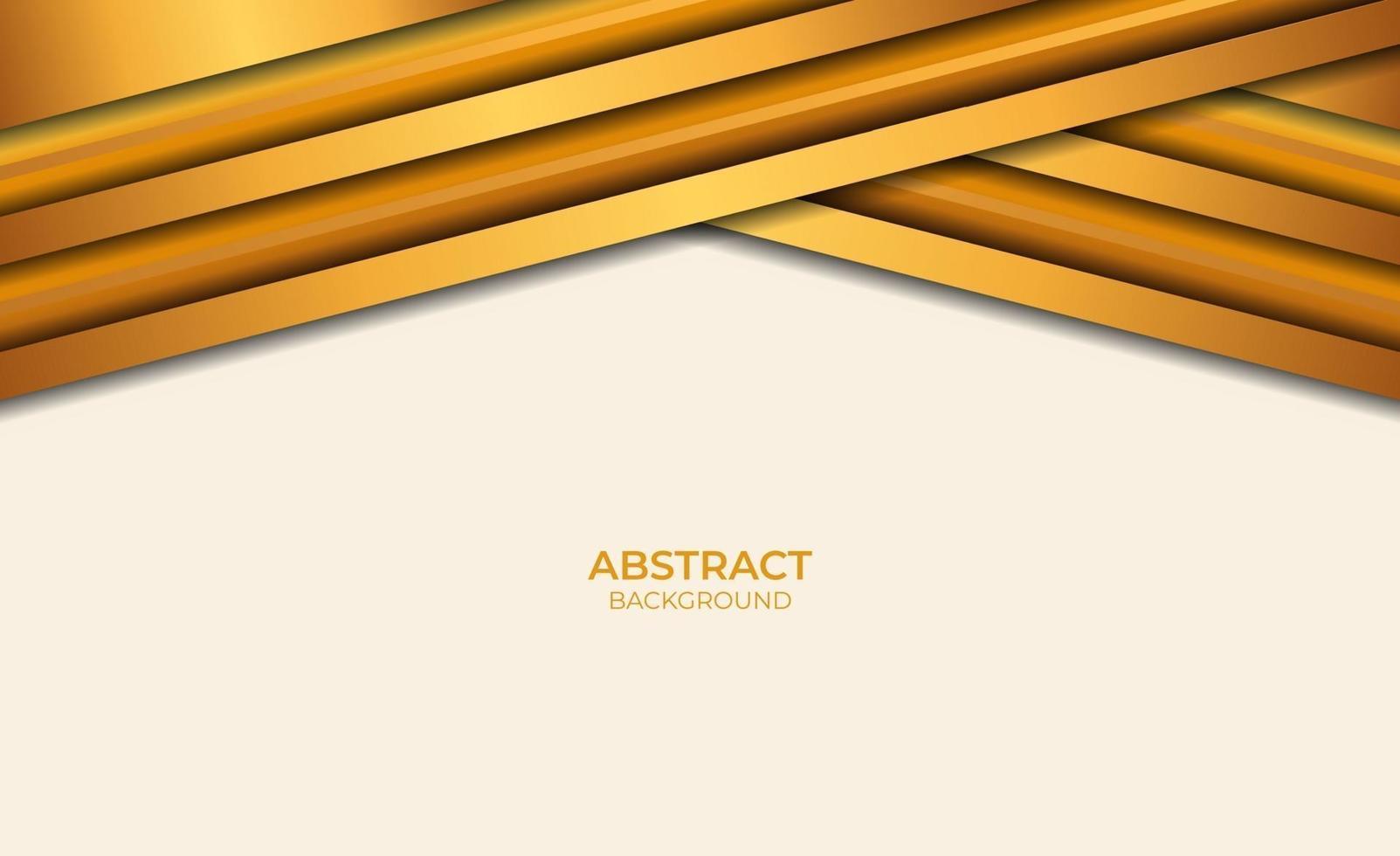 style abstrait marron et or vecteur