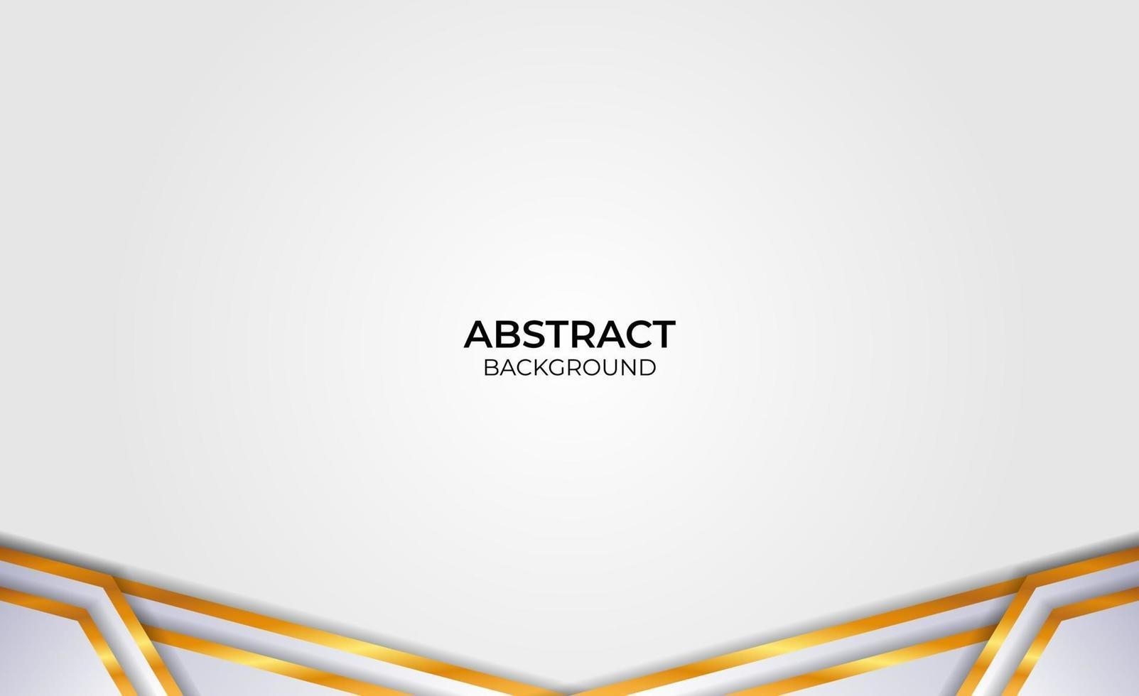 design élégant abstrait gris et or vecteur