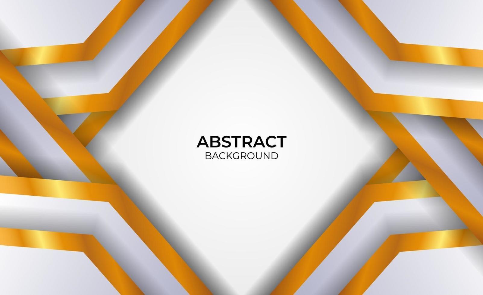 style de conception abstraite fond gris et or vecteur