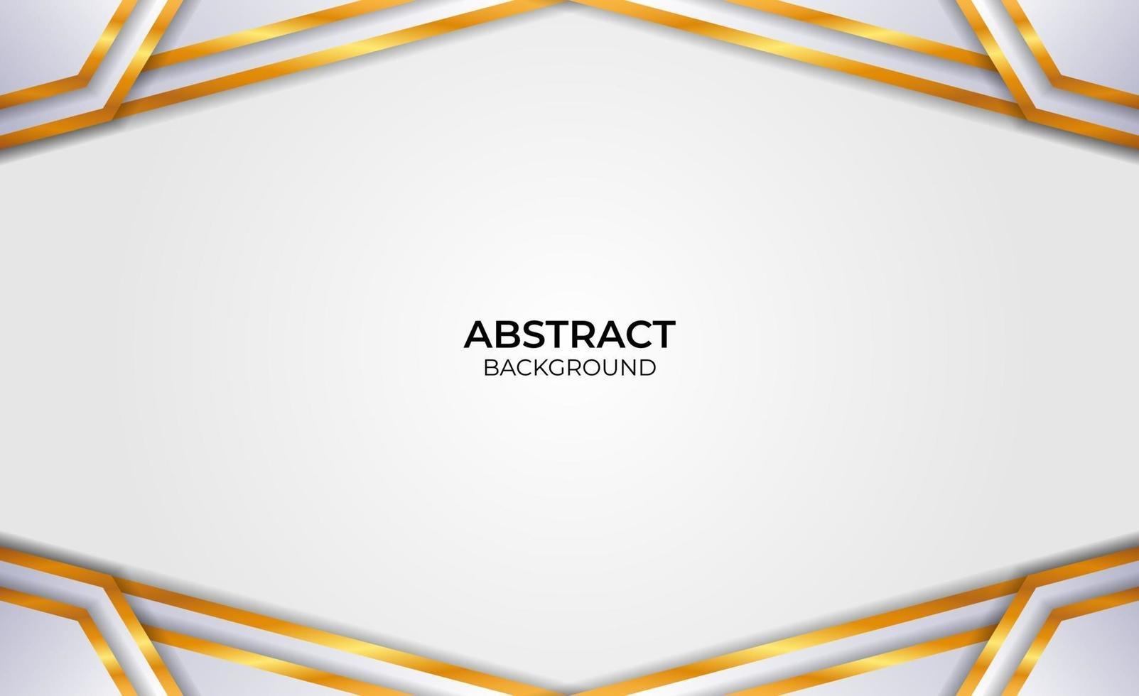 design élégant style abstrait gris et or vecteur