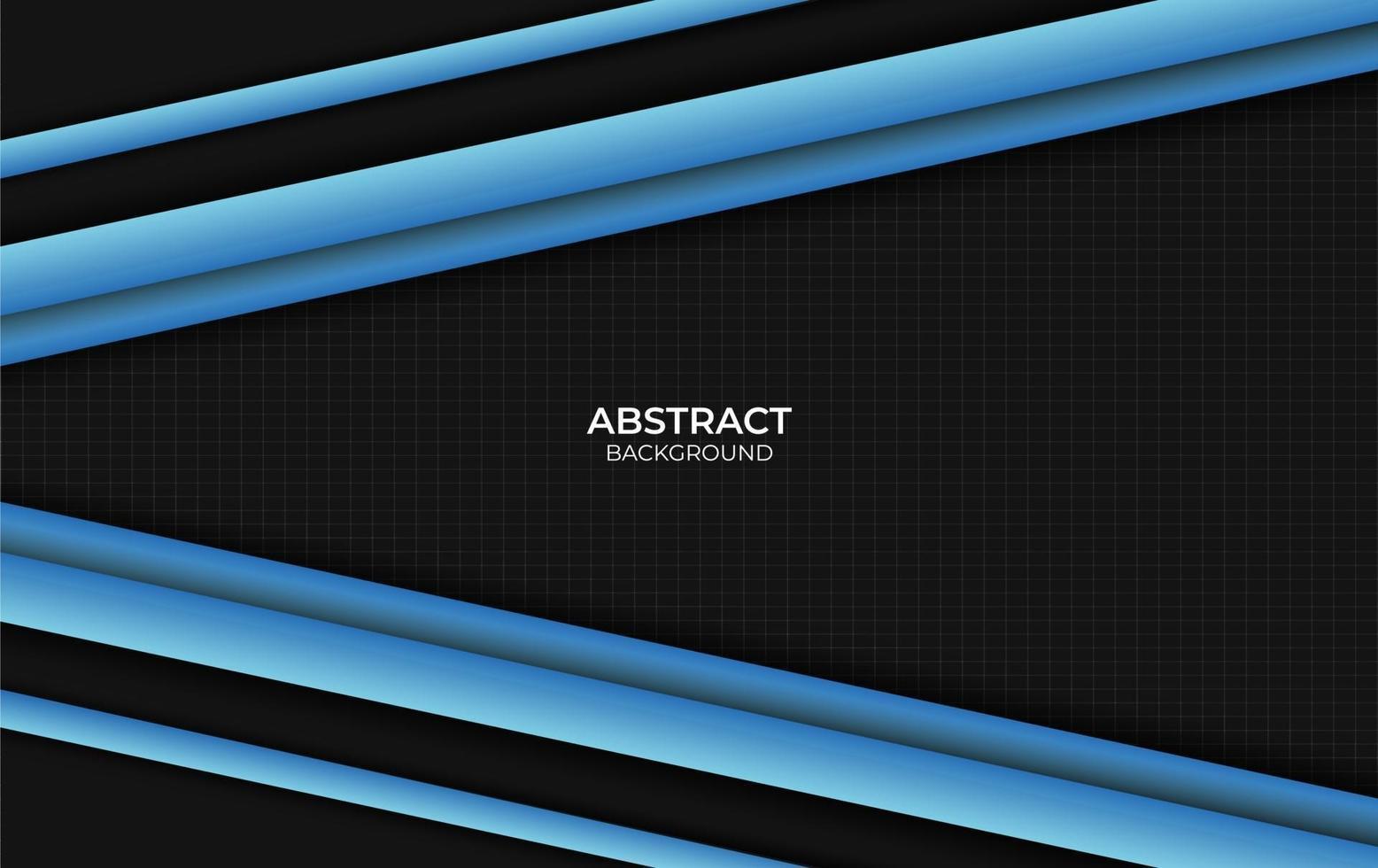 fond abstrait design bleu et noir vecteur