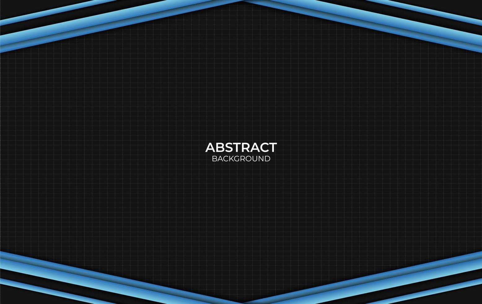 style de conception abstrait bleu et noir de fond vecteur