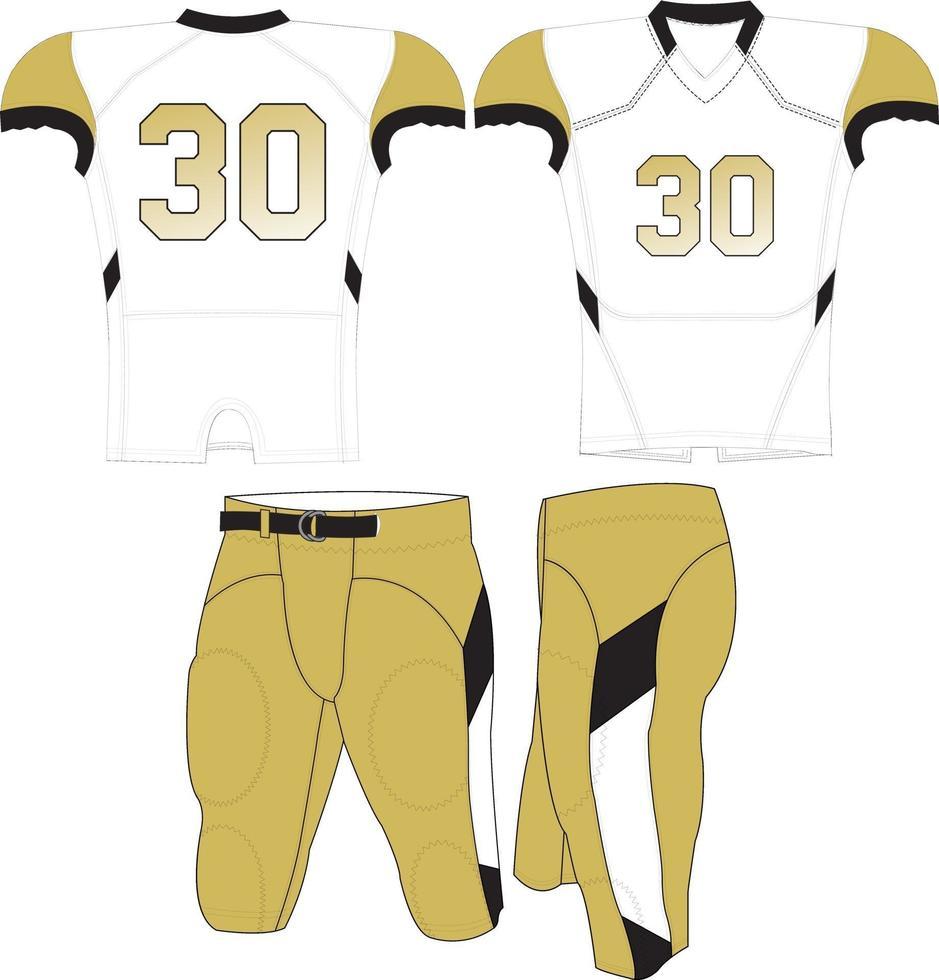 jersey et pantalon de compression vecteur