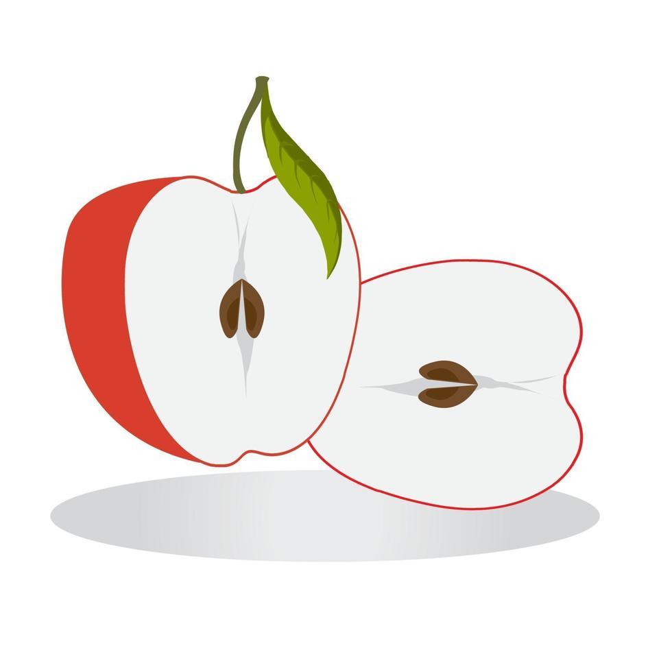 icône de pomme pour les projets de conception graphique vecteur