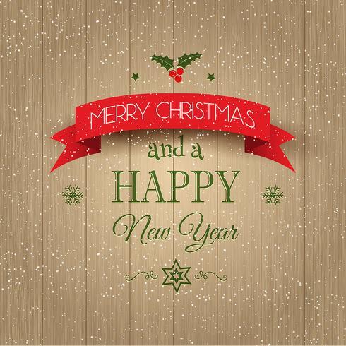 Fond décoratif de Noël et du nouvel an vecteur