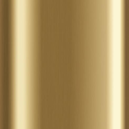 Fond en métal brossé doré vecteur