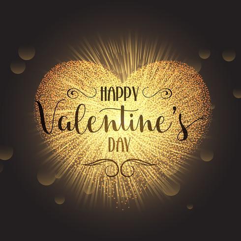 Fond coeur Saint Valentin vecteur