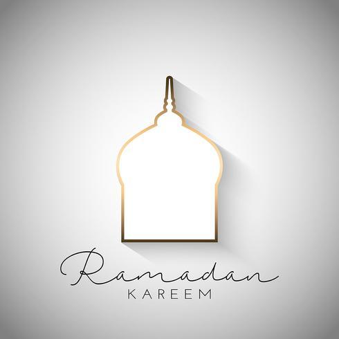 Fond de ramadan vecteur