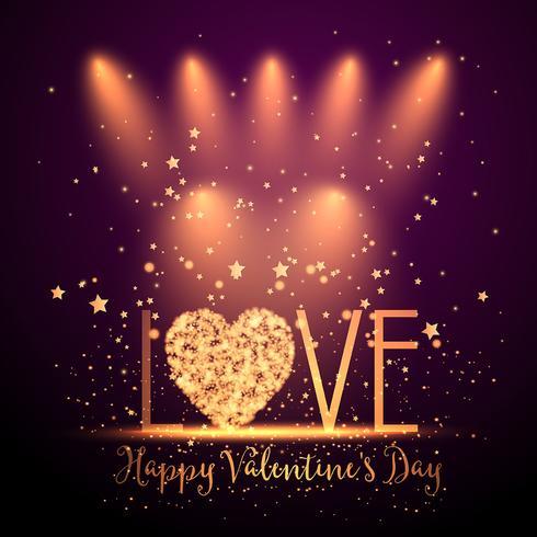 Heureuse Saint Valentin vecteur