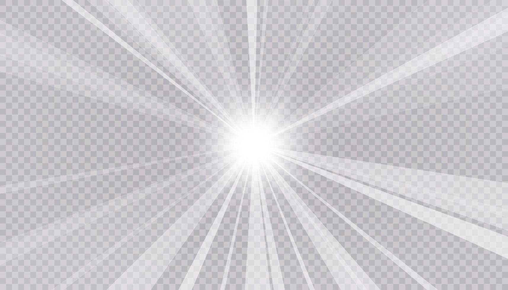 fond abstrait et clair de rayon lumineux. vecteur et illustration.